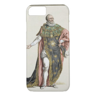 Henri IV (1553-1610) King of France, from 'Receuil iPhone 7 Case