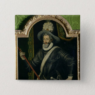 Henri IV  King of France and Navarre, c.1595 Button