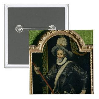 Henri IV  King of France and Navarre, c.1595 Pins