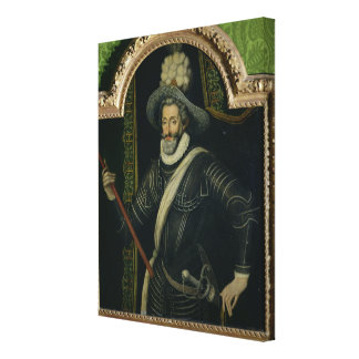 Henri IV  King of France and Navarre, c.1595 Canvas Print