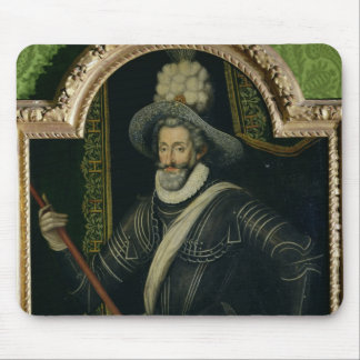 Henri IV  King of France and Navarre, c.1595 Mouse Pad