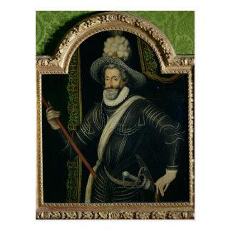 Henri IV  King of France and Navarre, c.1595 Postcard