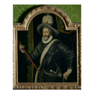 Henri IV  King of France and Navarre, c.1595 Poster