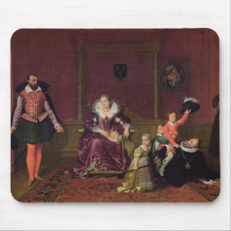 Henri IV  King of France and Navarre Playing Mouse Pad