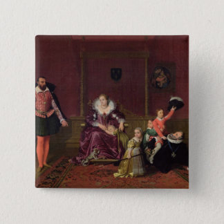 Henri IV  King of France and Navarre Playing Pinback Button