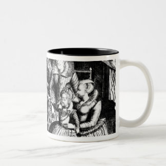 Henri IV  King of France with his Family Two-Tone Coffee Mug