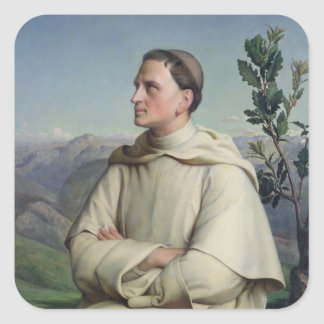 Henri Lacordaire  at Sorreze, 1847 Square Sticker