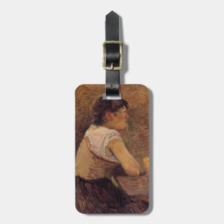 Henri -Lautrec- At Gennelle, Absinthe Drinker Tags For Luggage