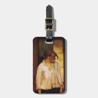 Henri -Lautrec- At Montrouge ( Rosa la Rouge) Luggage Tag