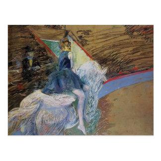 Henri Lautrec: At the Cirque Fernando Rider Postcard