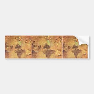 Henri -Lautrec- Booth of La Goulue Bumper Sticker