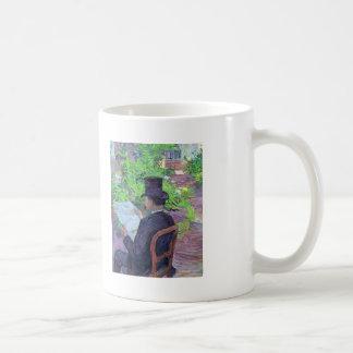 Henri Lautrec- Desire Dehau Reading a Newspaper Classic White Coffee Mug