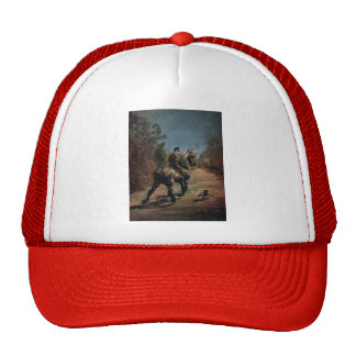 Henri Lautrec- Horse and Rider with a Little Dog Trucker Hat