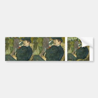 Henri Lautrec- M. Delaporte at the Jardin de Paris Bumper Stickers