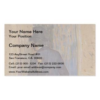 Henri Lautrec- Monsieur Louis Pascal from the Rear Business Card Templates