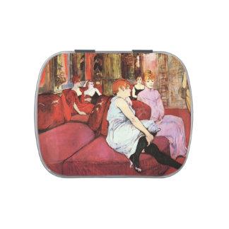 Henri Lautrec: The Salon de la Rue des Moulins Jelly Belly Tins