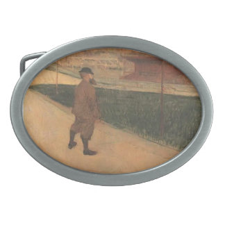 Henri Lautrec-Tristan Bernard at Buffalo Station Belt Buckle