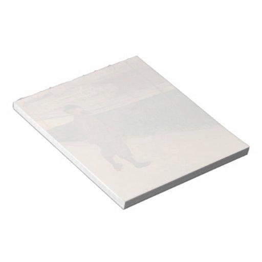 Henri Lautrec-Tristan Bernard at Buffalo Station Notepad