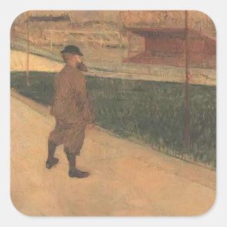 Henri Lautrec-Tristan Bernard at Buffalo Station Sticker