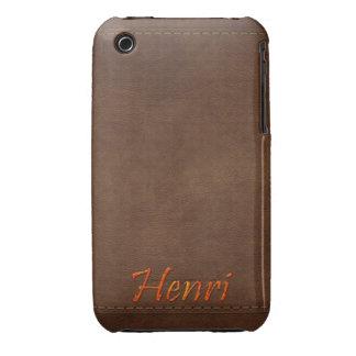 HENRI Leather-look Customised Phone Case