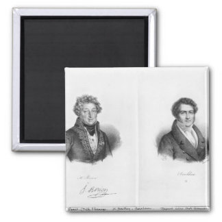 Henri Montan Berton  and Francois Adrien Fridge Magnet