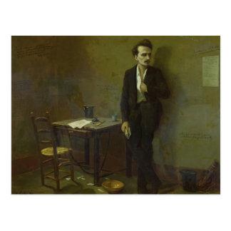 Henri Rochefort  in Mazas Prison, 1871 Postcard