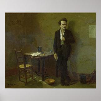 Henri Rochefort  in Mazas Prison, 1871 Poster