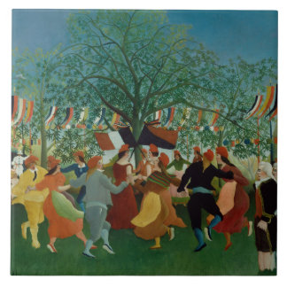 Henri Rousseau - A Centennial of Independence Ceramic Tile