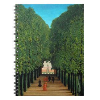 Henri Rousseau, Avenue in the Park at Saint Cloud Notebook