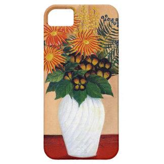 Henri Rousseau Bouquet Of Flowers iPhone 5 Cases