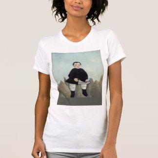 Henri Rousseau- Boy on the Rocks Tee Shirt