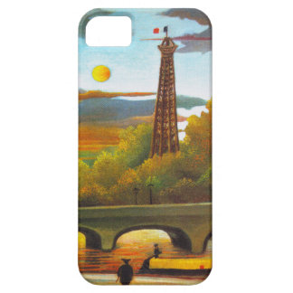 Henri Rousseau Eiffel Tower at Sunset iPhone Case iPhone 5 Cover