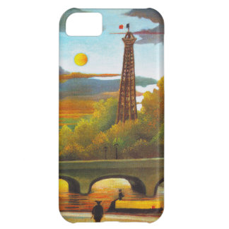 Henri Rousseau Eiffel Tower at Sunset iPhone Case iPhone 5C Cover