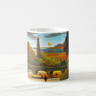 Henri Rousseau Eiffel Tower at Sunset Mug
