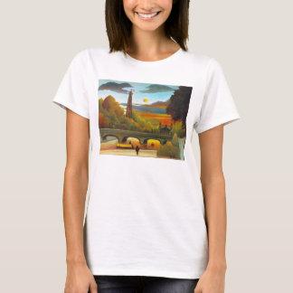 Henri Rousseau Eiffel Tower at Sunset T-shirt