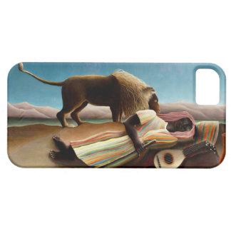Henri Rousseau el caso gitano del iPhone el dormir iPhone 5 Case-Mate Coberturas