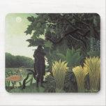 Henri Rousseau - el encantador de serpiente Tapete De Raton