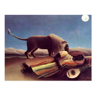 Henri Rousseau - el gitano durmiente
