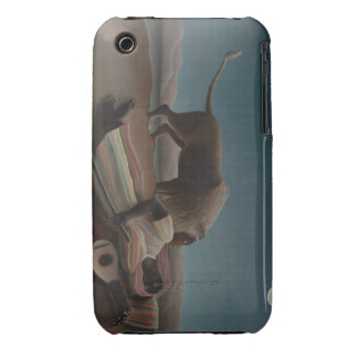 Henri Rousseau - el gitano durmiente iPhone 3 Case-Mate Cárcasa