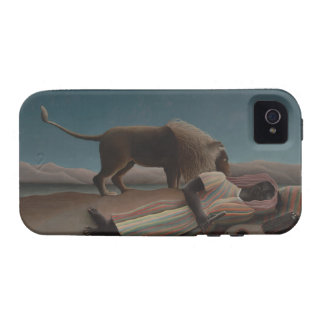 Henri Rousseau - el gitano durmiente Vibe iPhone 4 Carcasas