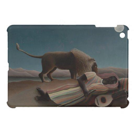Henri Rousseau - el gitano durmiente iPad Mini Cárcasa