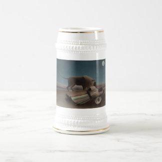 Henri Rousseau - el gitano durmiente Jarra De Cerveza