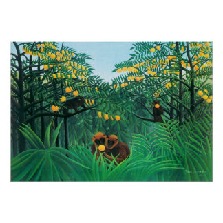 Henri Rousseau el poster de las zonas tropicales