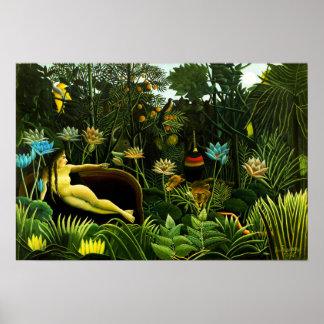 Henri Rousseau el poster ideal