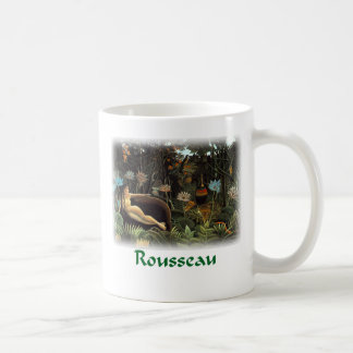 Henri Rousseau - el sueño Taza