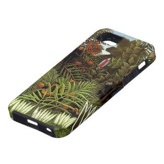 Henri Rousseau- Exotic Landscape iPhone 5 Cases