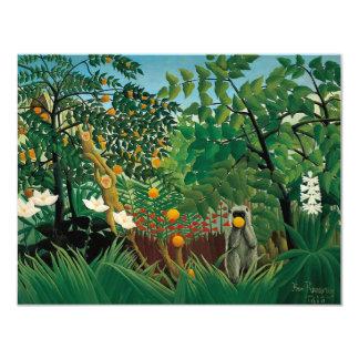 Henri Rousseau Exotic Landscape Invitations