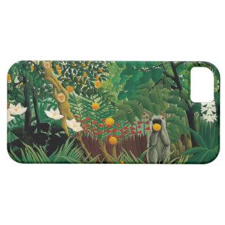 Henri Rousseau Exotic Landscape iPhone Case iPhone 5 Case
