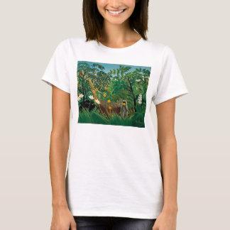 Henri Rousseau Exotic Landscape T-shirt