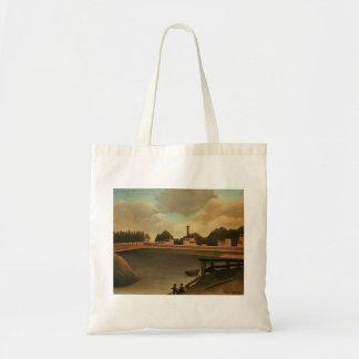 Henri Rousseau- Family Fishing Canvas Bag